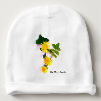 Gorro Bebé disño flowers margaritas Gorrito Para Bebe
