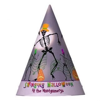 Gorro De Fiesta Baile con los huesos Halloween