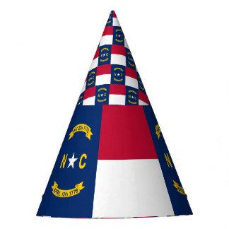 Gorro De Fiesta Bandera de Carolina del Norte