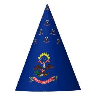 Gorro De Fiesta Bandera de Dakota del Norte