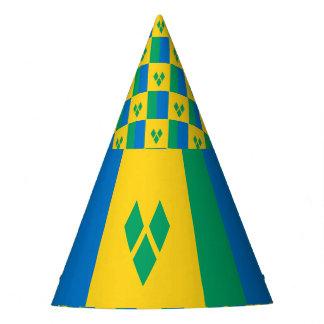 Gorro De Fiesta Bandera de San Vicente y las Granadinas