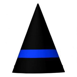 Gorro De Fiesta Blue Line fino limpia al fiesta temático