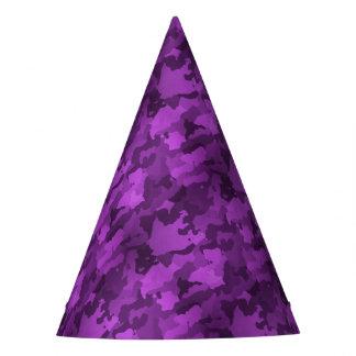 Gorro De Fiesta Camo púrpura