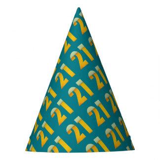 Gorro De Fiesta Celebre el 21ro cumpleaños