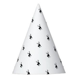 Gorro De Fiesta Ciervos blancos y negros