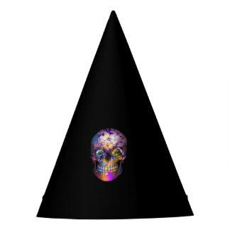 Gorro De Fiesta Cráneo floral asombroso A