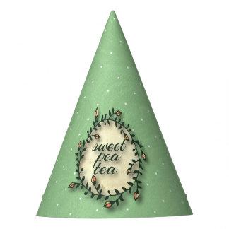 Gorro De Fiesta Cumpleaños del té del guisante de olor - lunar