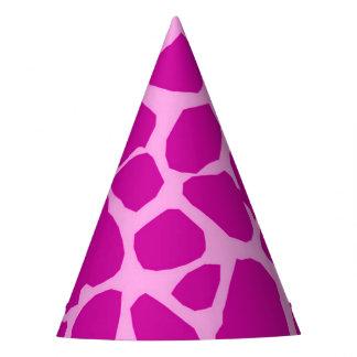 Gorro De Fiesta Encanto animal de la moda de la selva rosada de la