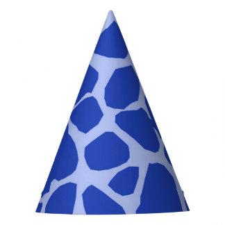 Gorro De Fiesta Encanto animal de la selva azul de la jirafa