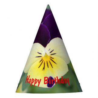 Gorro De Fiesta Feliz cumpleaños del pensamiento