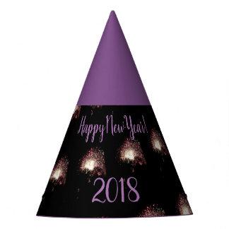 Gorro De Fiesta Fuegos artificiales de la Feliz Año Nuevo