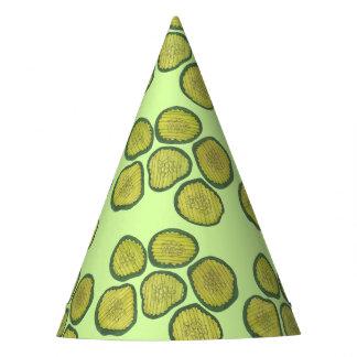 Gorro De Fiesta Impresión verde de Foodie de las salmueras dulces