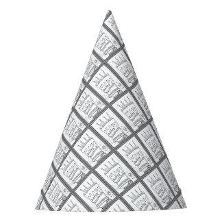 Gorro De Fiesta Línea diseño de la torta de la mascarada del arte