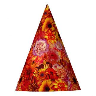 Gorro De Fiesta Margaritas candentes ricas del ramo brillante