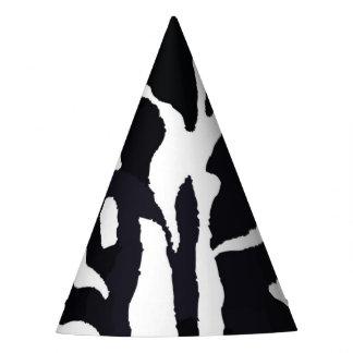 Gorro De Fiesta Moda animal de la cebra blanco y negro