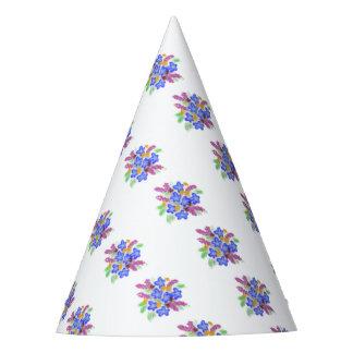 Gorro De Fiesta Ramillete floral bonito a mano original