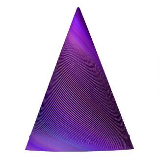 Gorro De Fiesta Tormenta púrpura de la noche