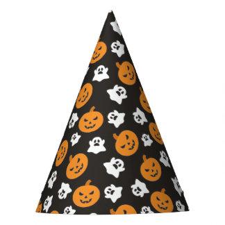 Gorro De Fiesta Truco de Halloween o fantasmas y calabazas lindos