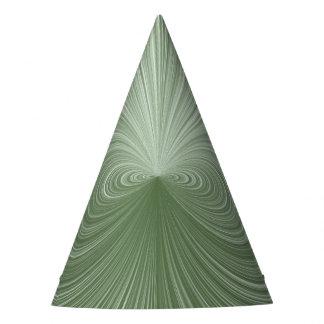 Gorro De Fiesta Vórtice de la verde menta