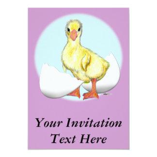 Gosling:  Apenas tramado Invitación 12,7 X 17,8 Cm