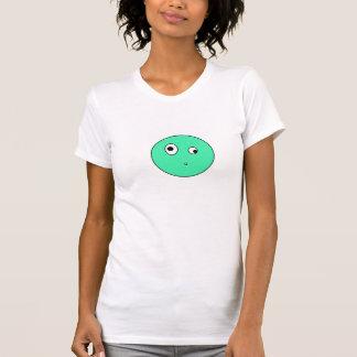 Gota de la turquesa camisetas