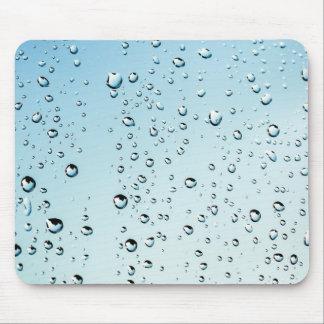 Gotas de lluvia alfombrilla de ratón