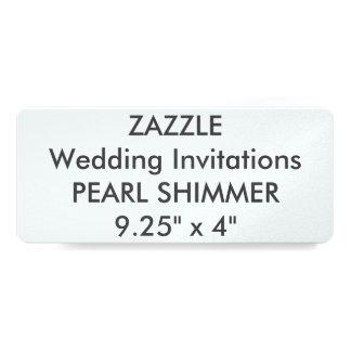 """GOTEE 110lb 9,25"""" x 4"""" las invitaciones del boda Invitación 10,1 X 23,5 Cm"""