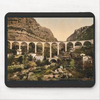 Gourdon, garganta del lobo, el puente, Grasse, fra Tapetes De Ratones