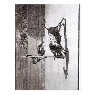 ¿Goya la velocidad y el atrevimiento de Juanito Postal