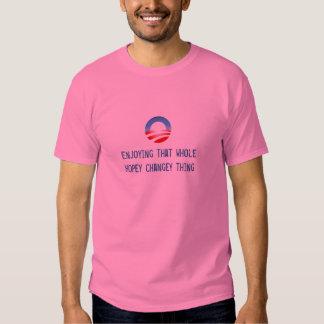 Gozando de eso cosa entera del changey del hopey camiseta