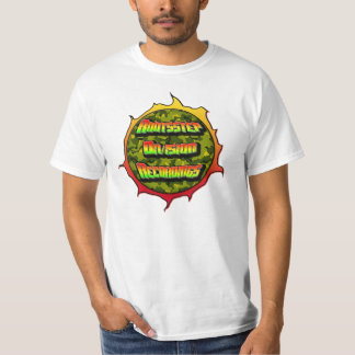 """Grabaciones """"bola de fuego """" de la división de camiseta"""