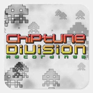 Grabaciones de la división de Chiptune Pegatina Cuadrada