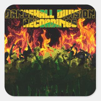 Grabaciones de la división de Dancehall Pegatina Cuadrada