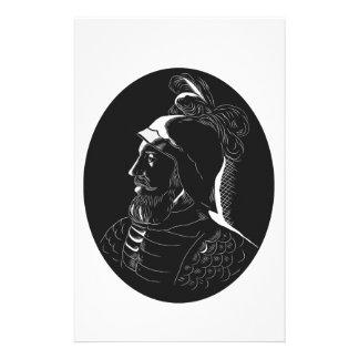 Grabar en madera de Vasco Núñez de Balboa Papelería De Diseño