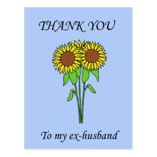 Gracias a mi ex-marido postal