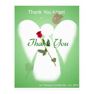 Gracias ángel postal