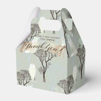 GRACIAS arbolado personalizado caja del invierno