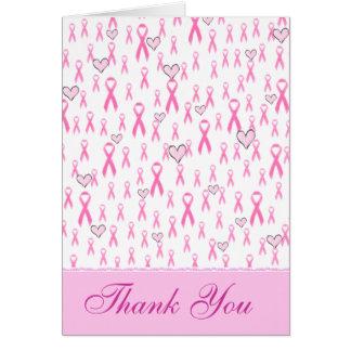 ¡Gracias, cuidado rosado de las Cintas-Yo! _ Tarjeta Pequeña