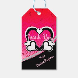 Gracias especiales etiquetas para regalos
