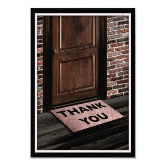gracias estera de puerta comunicados personales