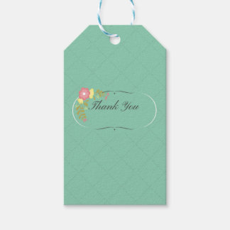 Gracias etiqueta del regalo etiquetas para regalos