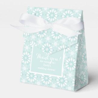 ¡Gracias! Favorezca la caja con el flor-boda