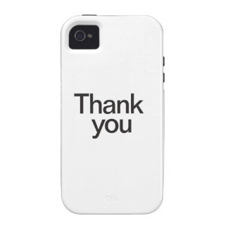 gracias iPhone 4/4S carcasas
