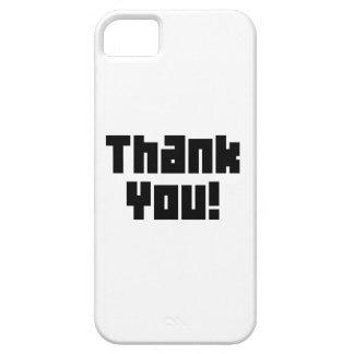 Gracias iPhone 5 Case-Mate Protectores