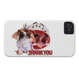 Gracias - gracias mucho - chihuahua - trasto iPhone 4 funda