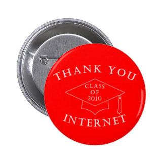 Gracias Internet Pins