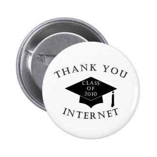 Gracias Internet Pin