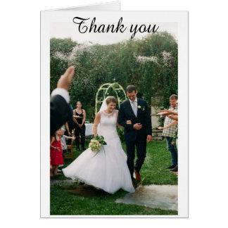 ¡Gracias invitación de boda!