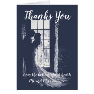 Gracias invitación de boda