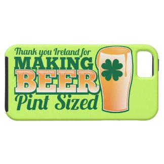 Gracias Irlanda por hacer la pinta de la cerveza c iPhone 5 Case-Mate Cobertura